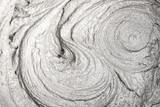 Nahaufnahme von angerührtem Mörtel oder Zement - 174789983