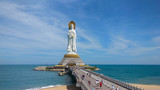 The statue of Guanyin in Hainan, China - 174800732