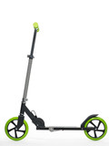 Black scooter photo on white background