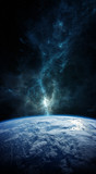 Planet Earth in space 3D rendering elements of this image furnished by NASA - 174829369