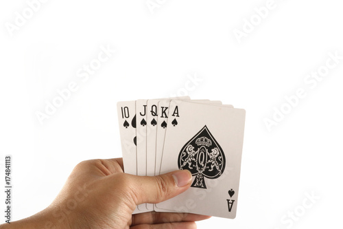 Plakat playing card