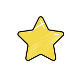 nice star spartly design icon