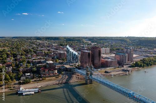 Aerial View of Covington Kentucky
