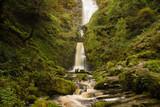 Pistyll Rhaeadr Waterfall in North Wales United Kingdom