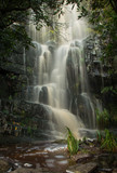 The waterfall at the Silvermine Nature Reserve, Cape Town, after heavy rain