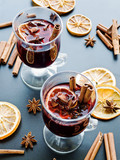 Christmas mulled wine - 174907796
