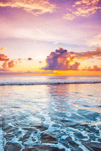 Fotobehang Strand Sunset in Bali