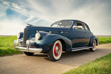 Oldtimer Cadillac Lasalle Coupe 1940, Nahaufnahme