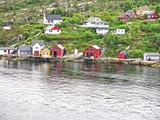Paisaje de los fiordos noruegos, Noruega, Europa - 174932190