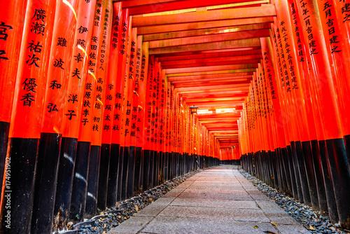 Papiers peints Rouge 京都 伏見稲荷大社 日本