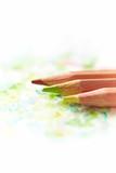 Watercolor pencils on paper - 174960573