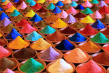 multicolored powder dyes - 174973120