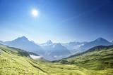 mountains landscape, Grindelwald First, Switzerland - 174979970