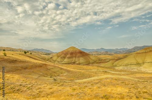 Fotobehang Beige Montana