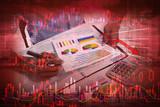 Stock market crash - 174984144