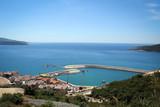 Adriatic Sea coast landscape near Tivat, Montenegro - 174991534
