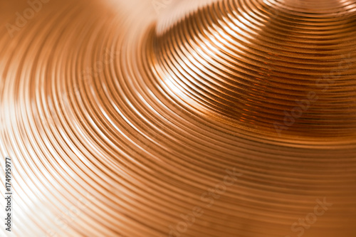 cymbal; - 174995977