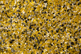 decorative shell texture, yellow fractions - 174998948