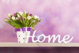 Tulips in vase - 174998957