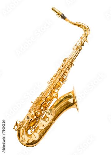 saxophone isolated on white - 175000326