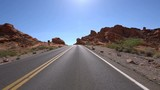 Valley of Fire Rocky Canyon Highway Driving Plates 11 American Southwest - 175007312