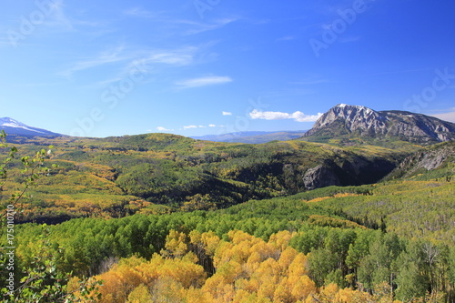 Poster Honing Fall Colors Landscape
