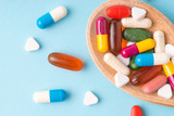 Medicine, tablet, vitamin and drug in various shape - 175013748