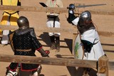 Fight of medieval knights - 175032793
