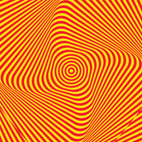 Abstract twisted background. Optical illusion of distorted surface. Twisted stripes.  - 175035110