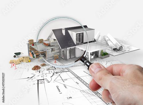 Projet d'agrandissement rénovation extension d'une maison - 175039327