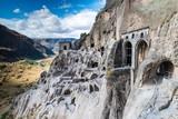 Vardzia complex monastery coverd in rock caves - 175043576
