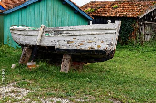 Fotobehang Schip Vieux bateau