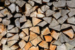 Holz auf dem Stapel - 175053192