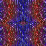 3d illustration - Abstrakt fraktal muster - 175054703