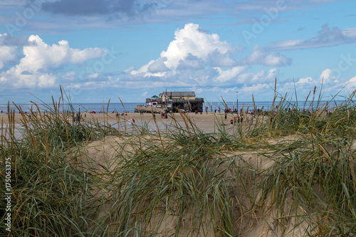 Papiers peints Piscine Pfahlbauten in St. Peter- Ording