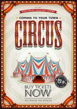 Vintage Old Circus Poster - 175064368