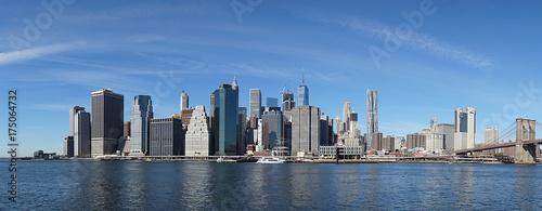 New York Manhatten Side with Hudson River © worldshotz.com