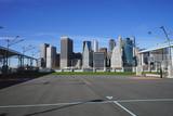 Basketball Court on Hudson River New York - 175066758