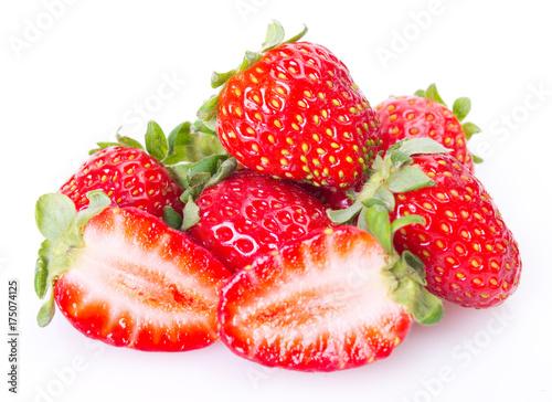 Wall mural Fresh strawberry