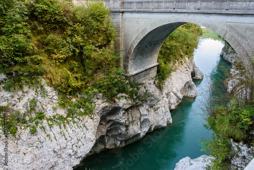 Poster Gorge of the Isonzo River