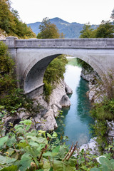 Gorge of the Isonzo River