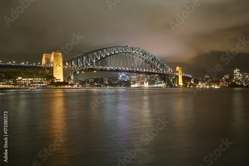 Staande foto Sydney Sydney viez with Harbour Bridge