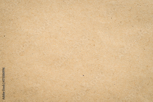 close up kraft brown paper texture and background. - 175086996