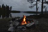Lagerfeuer in Schweden - 175091938