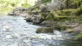 fast current on the river - 175094970