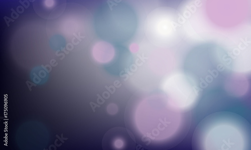 Aluminium Abstractie vector background with blurry circles