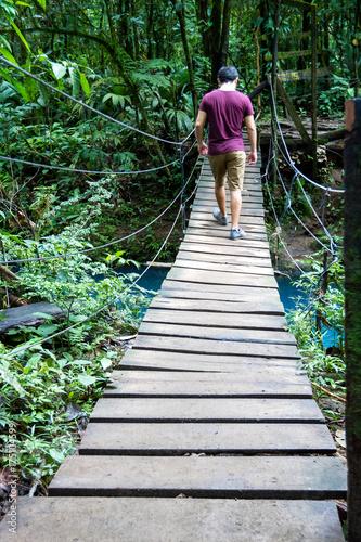 Deurstickers Rio de Janeiro Hiking in Costa Rica