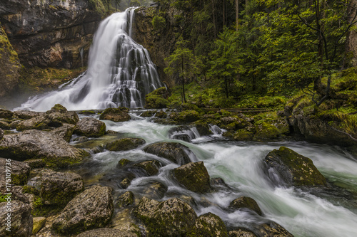 Gollinger Wasserfall in Österreich - 175109736