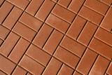cobblestone road pavement background - 175114702