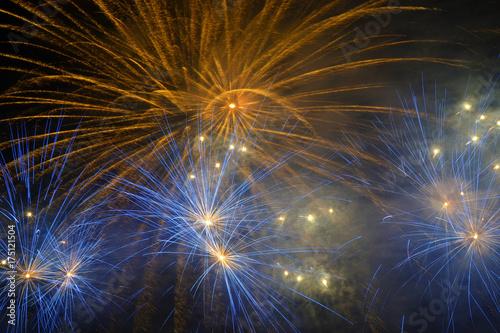 Poster Fuochi d'artificio